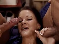 Harder' s facial compilation 53