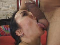 Mature woman with hairy pussy gets fucked