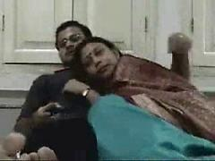 Amateur Indian Couple Makes Love In Front Of The Camera