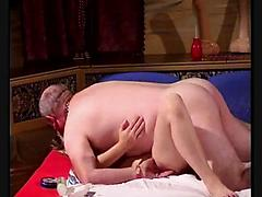 An Old Man Dicks Needed Teen Pussy To Fill Her Jizz