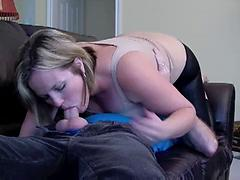 Horny Mother Finds Friends Son And Takes Advantage