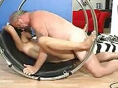 Old Man Goes Deep In Some Good Asian Pussy