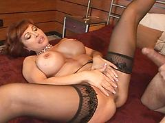 High Class Cougar Gets A Pounding In Hotel Room