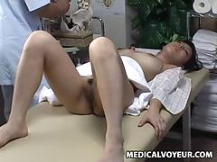 Asian Teen Fucked While Doctor Examining The Virginity Test