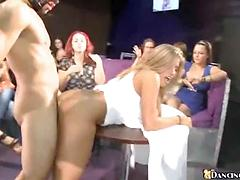 Hot Babes Suck And Get Fucked At A Local Party