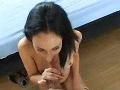 French brunette anal atm