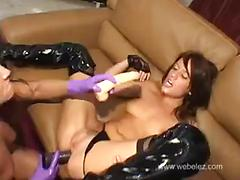 Rita faltoyano and holly wellin-hot dildo anal fisting and gape 3