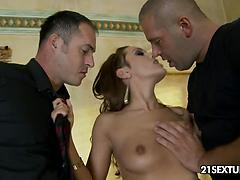 Two Hard Cocks For Dominica