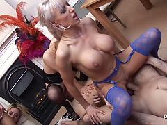 Passionate Orgy Between Friends