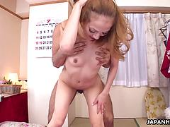Asian Skinny Slut Gets Fucked Rough