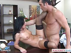 India Summer Looks Sexy In High Heels Getting Fucked