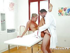 Ivana Acts Just Like A Nurse With All The Other Guys