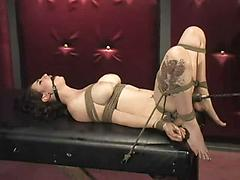 Bondage and fucking machines (natalie) - 25